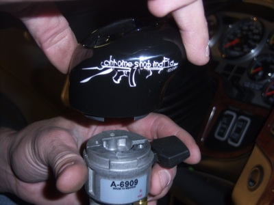 Installing a Custom Shift Knob on a Fuller - Roadranger